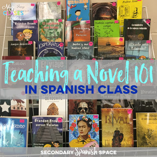 Teaching a Novel 101 in Spanish class