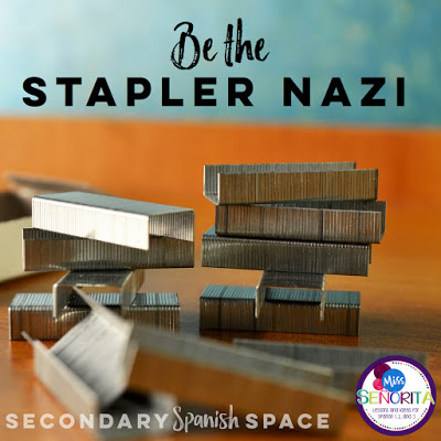 how to create an awesomely engaging project as an assessment - be the stapler nazi