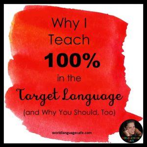 90% Target Language