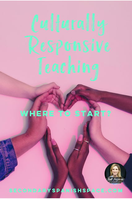 Culturally Responsive Teaching in Spanish Class: Where to Start? - Secondary Spanish Space