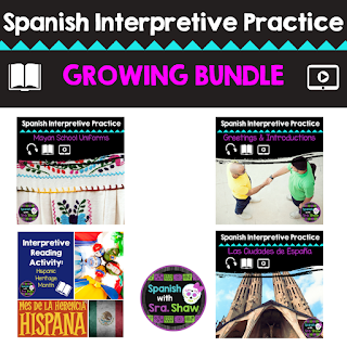 Spanish interpretive activities