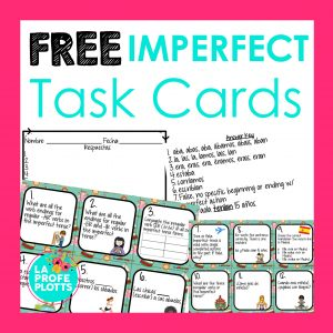 imperfect task cards