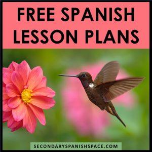 Free Spanish Lesson Plans