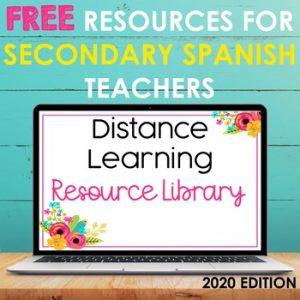 Free Spanish Activities