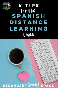 Spanish distance learning