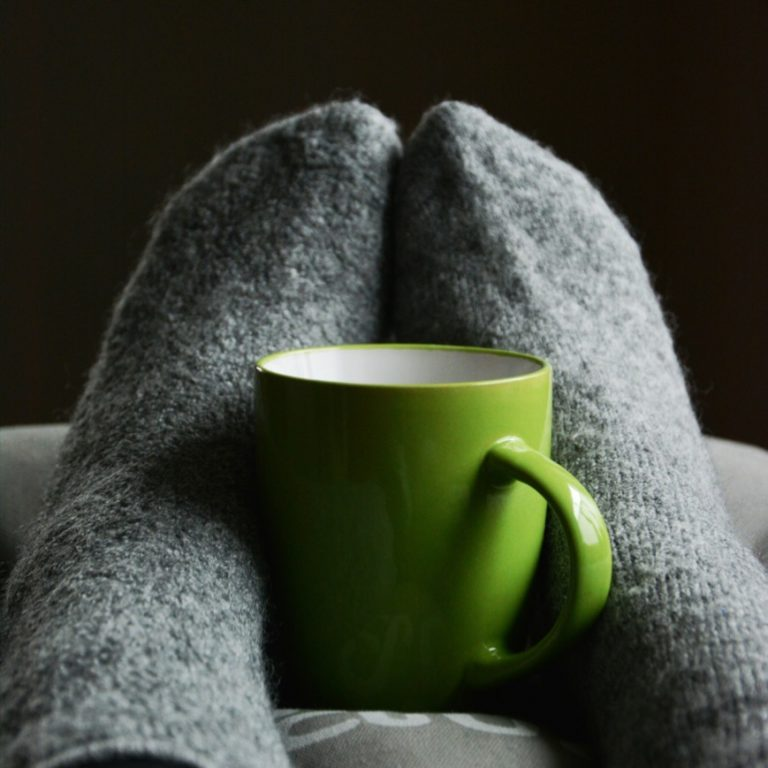 Comfy Socks and Mug