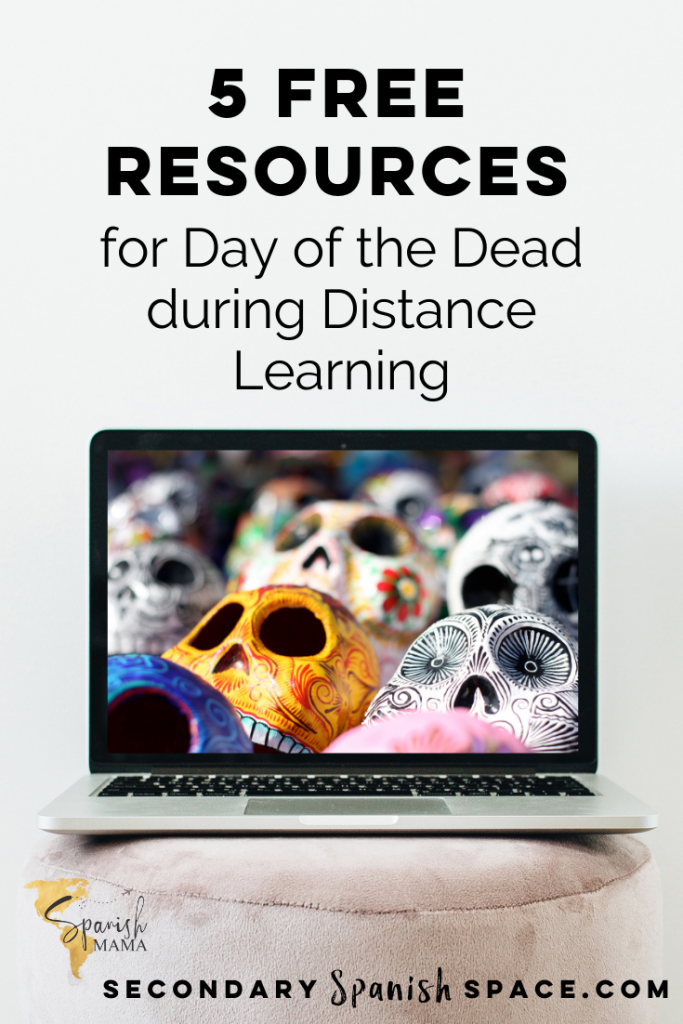 Distance Resources for day of the Dead
