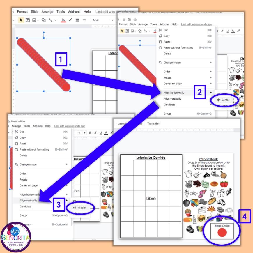 how to make digital bingo - layer the bingo chips