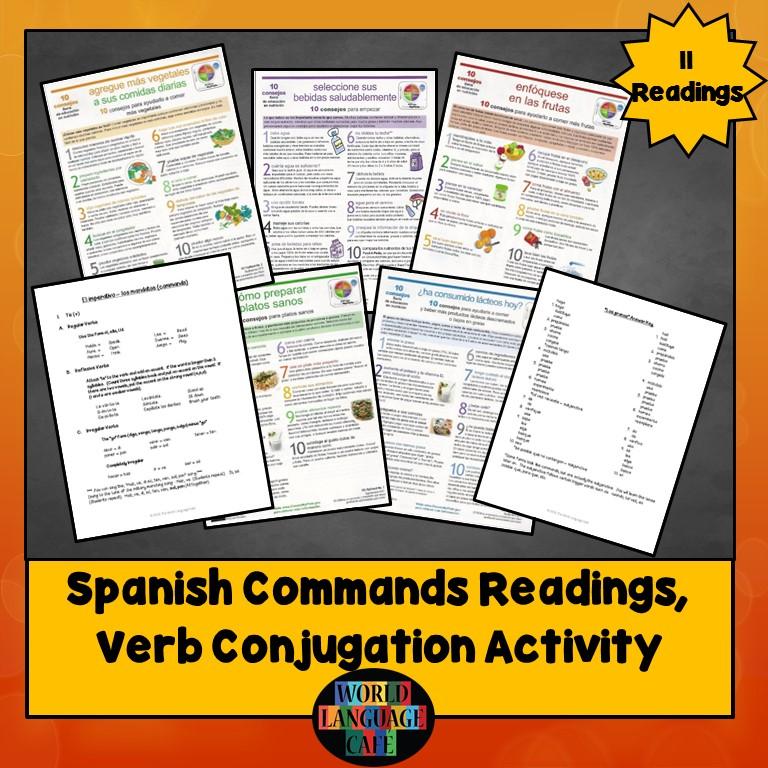 Spanish Imperative Readings