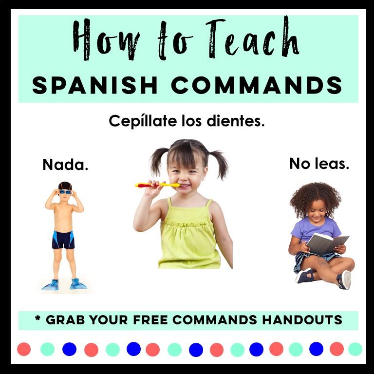 Spanish Imperative Activities