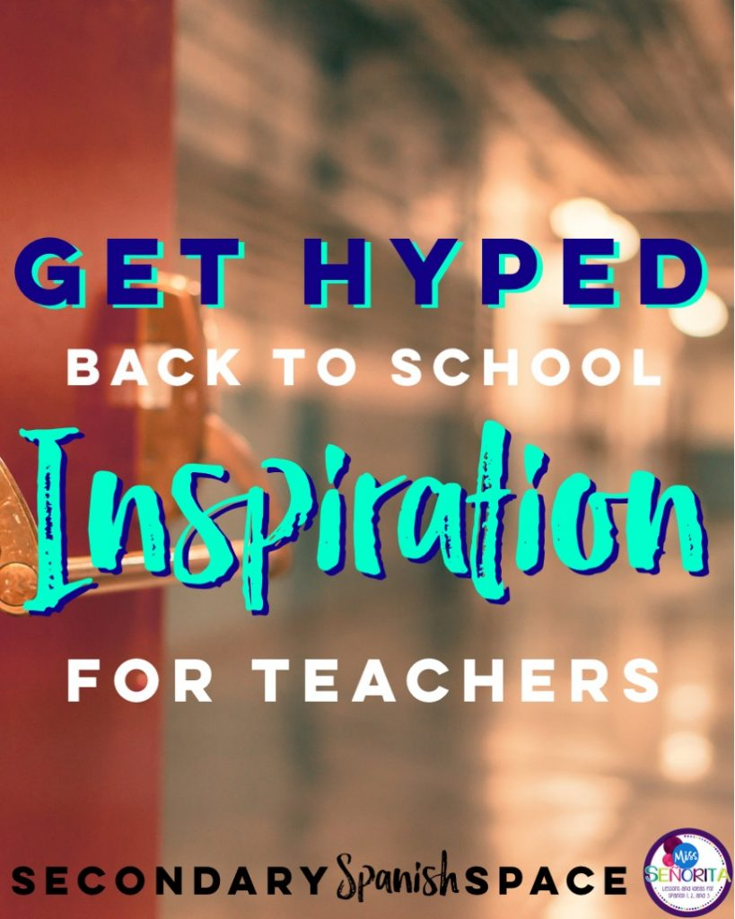 Get Hyped Back to School Inspiration for Teachers