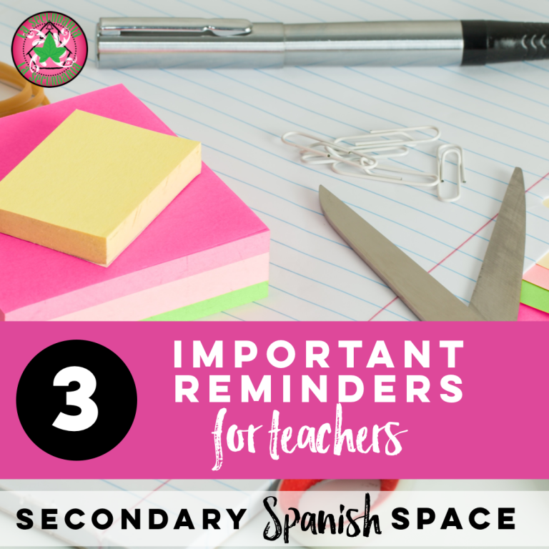 3 Important Reminders for Teachers